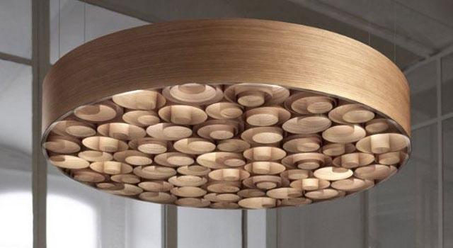 деревянные люстры из дерева