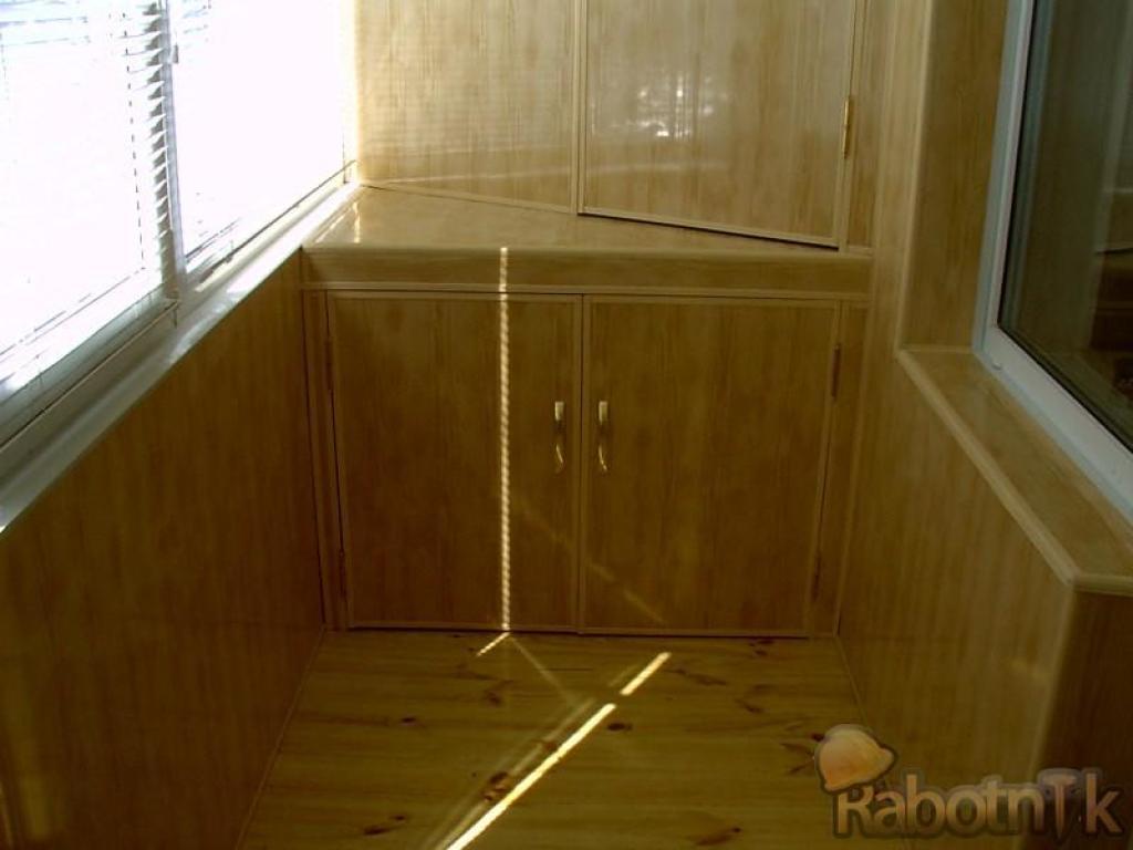 Отделка балконов внутри . под ключ. мебель для балконов под .