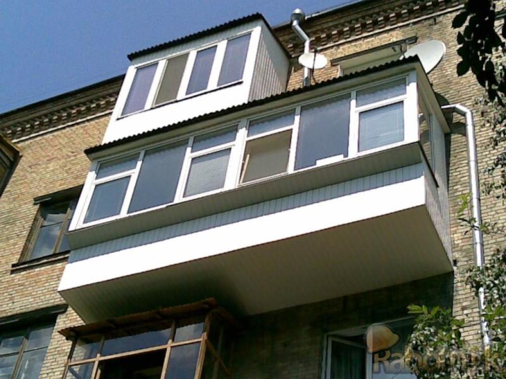 Расширение и остекление балконов - краснодар.