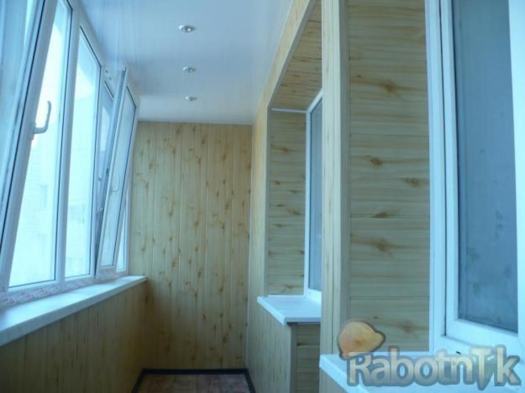 Ремонт на балконе дешево и красиво.
