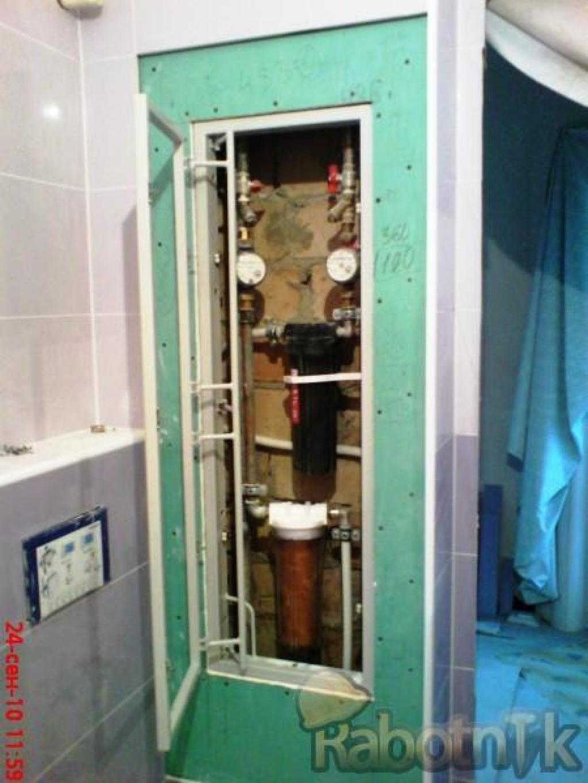 Как сделать дверцу в туалете для доступа к стояку своими руками 46