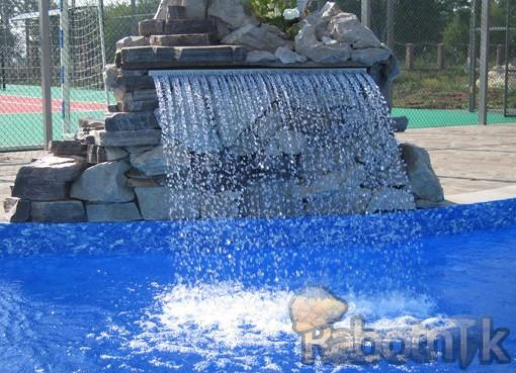 Водопады для бассейна своими руками