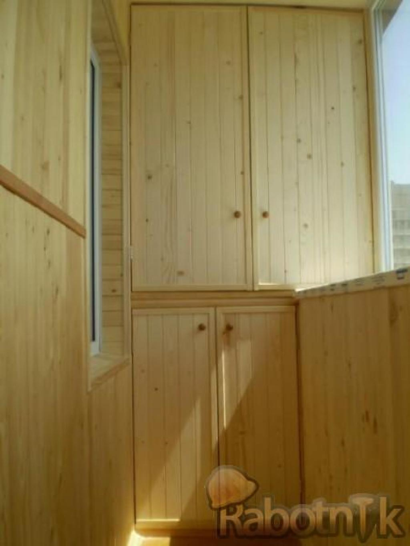 Как сделать шкаф на балконе своими руками - подготовка и эта.