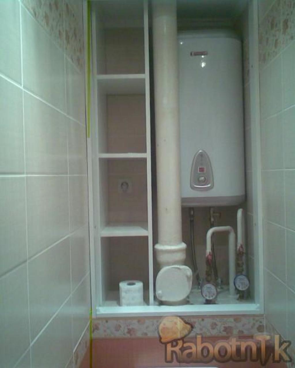 Идеи шкафчиков в туалете фото