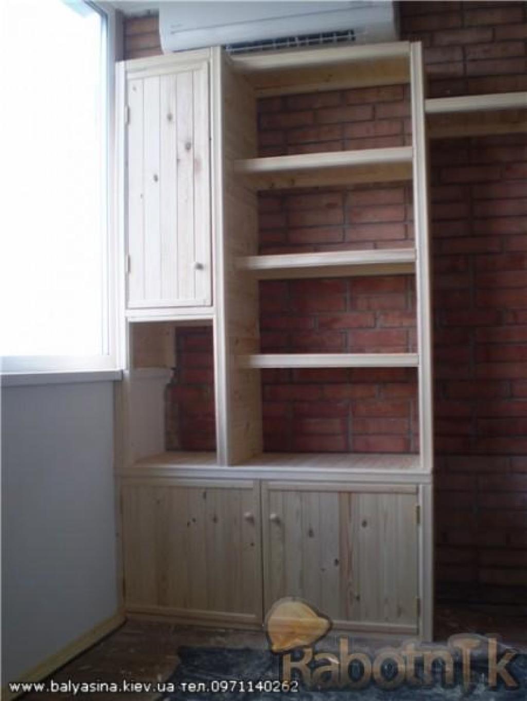Ящики шкафы на балконе фото. - дизайн маленьких лоджий - кат.