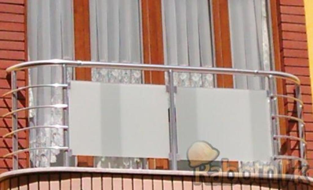 Балконы и балконные ограждения из нержавеющей стали (нержаве.