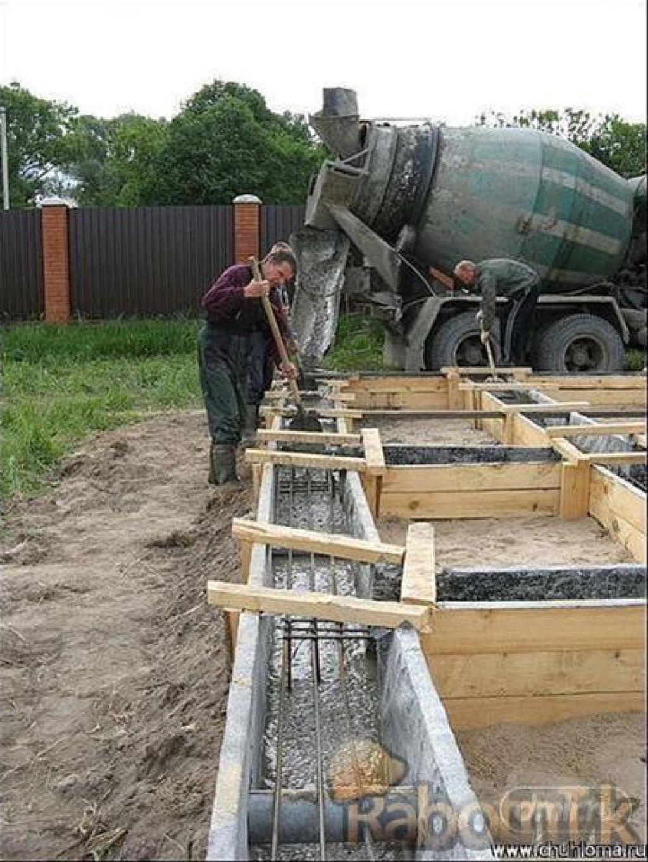 Как сделать бетон для фундамента: пропорции, заливка 15