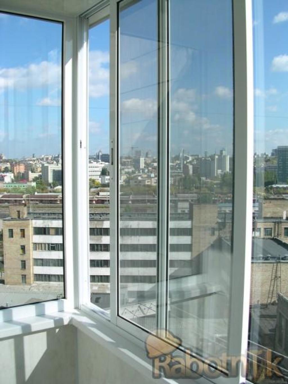 Посмотреть фото - застеклить балкон, остекление лоджии, алюм.