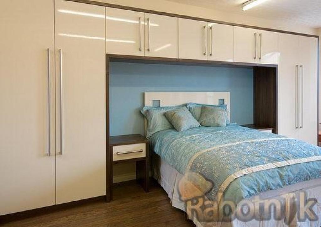 Встроенные спальни фото.