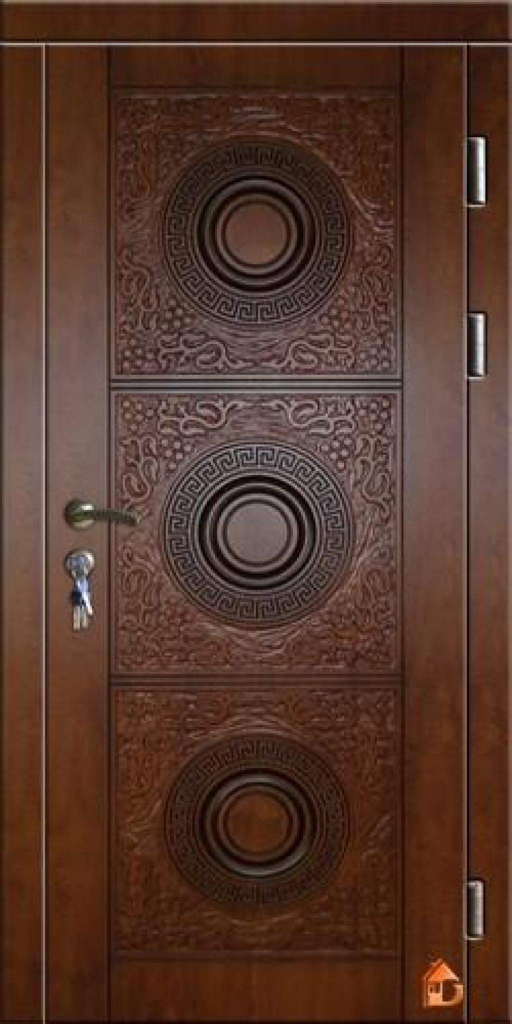 двери входные мдф 80см