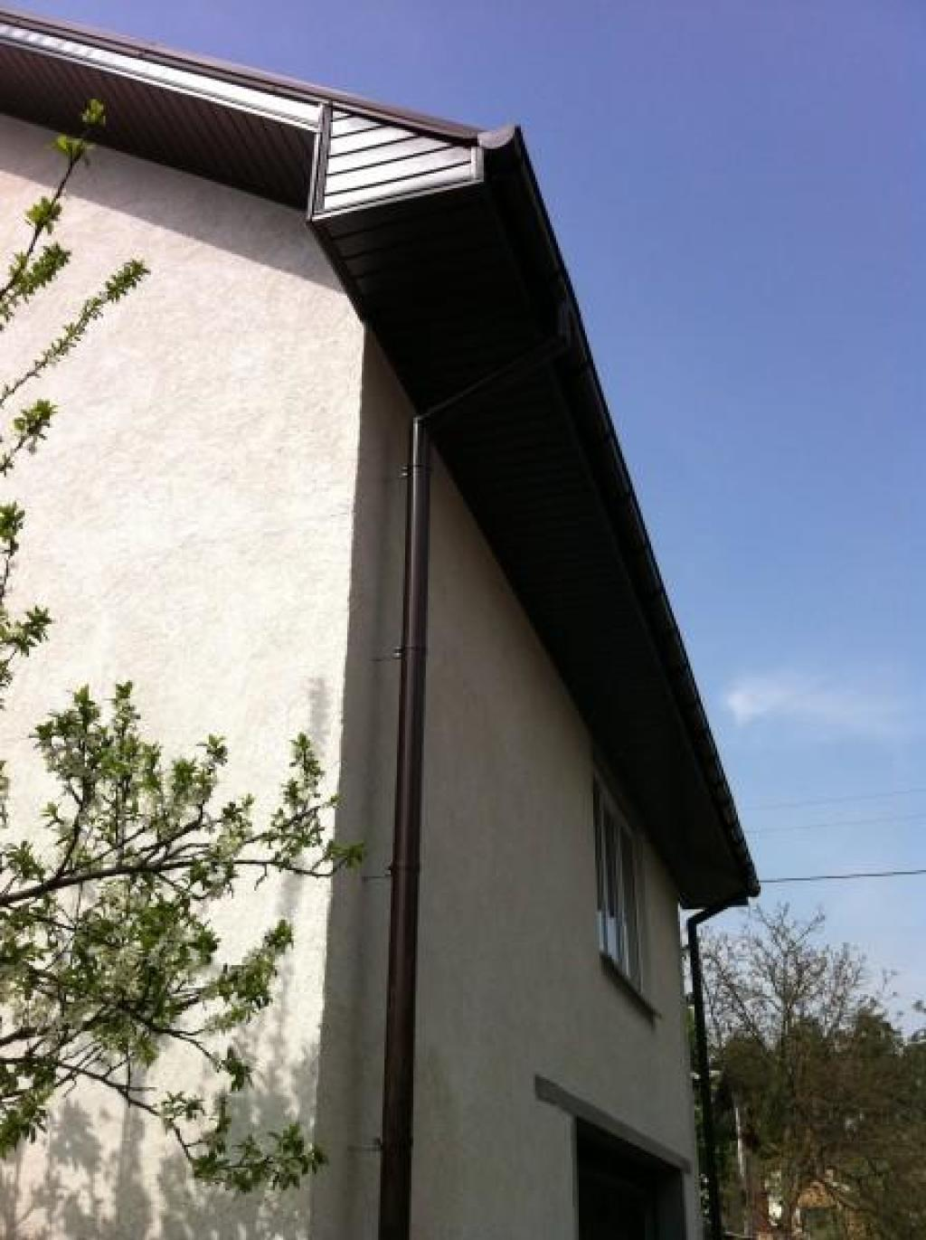 Отделка карниза крыши: как и чем отделать своими руками 92