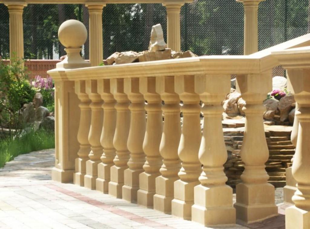 Перила для балкона из камня. - пластиковые окна - каталог ст.