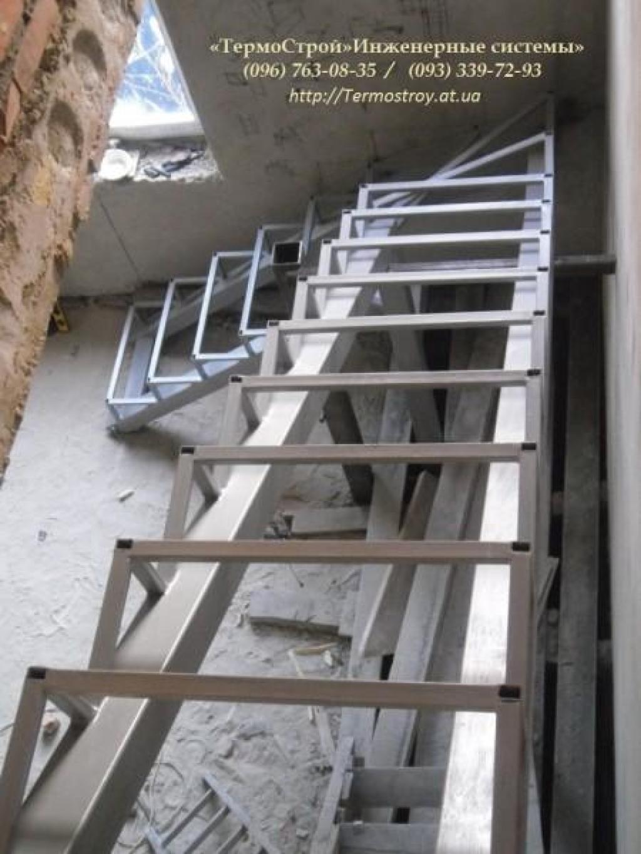 Техническая лестница своими руками