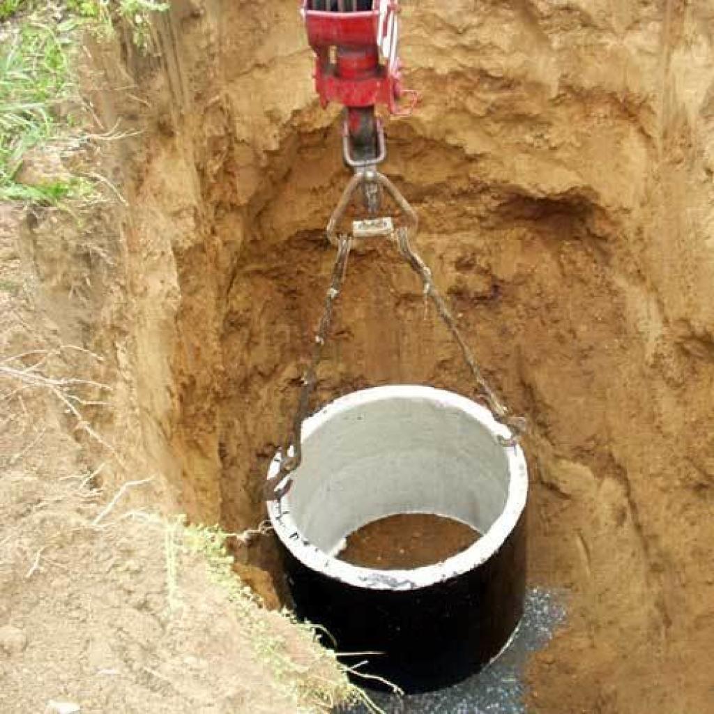 Смотровой колодец водопровода из кирпича своими руками