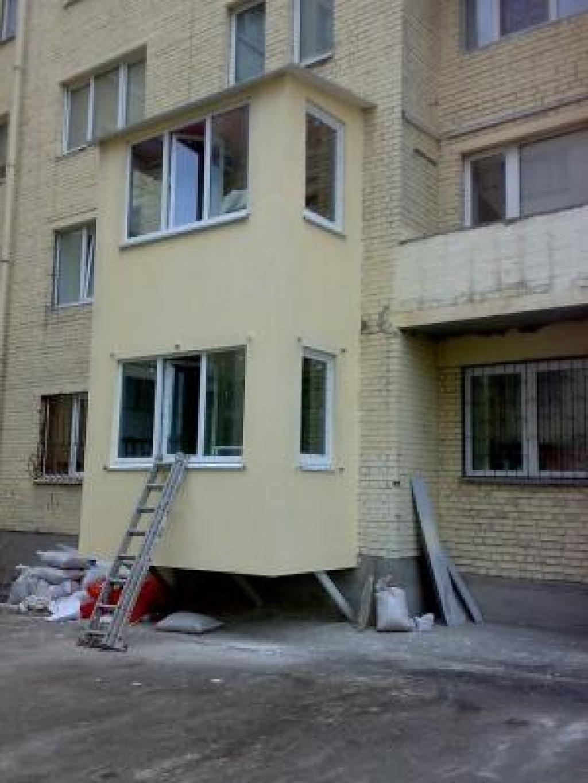 Балконы - примеры работ компании Яковенко ремстройсервисплюс.
