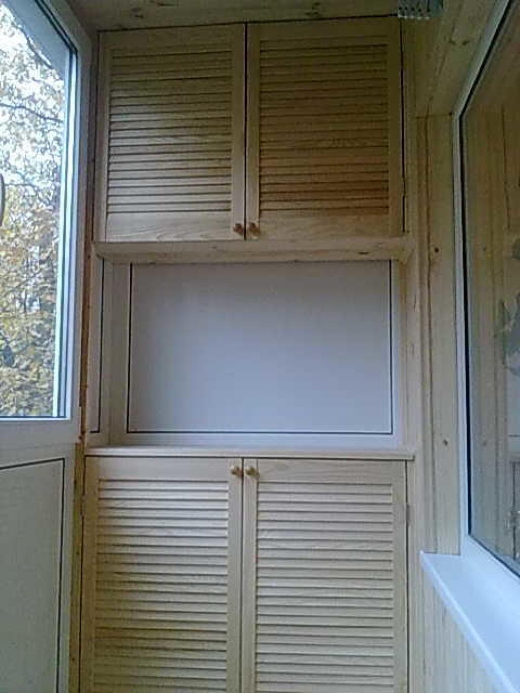 Фото: шкафЧики на балкон. столярные работы, киев, троещина.