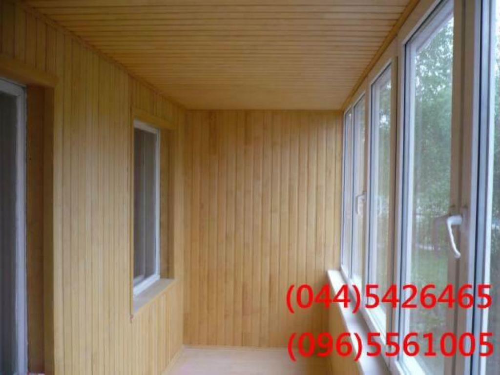 Фото: пластиковые окна, обшивка балконов, натяжные потолки -.