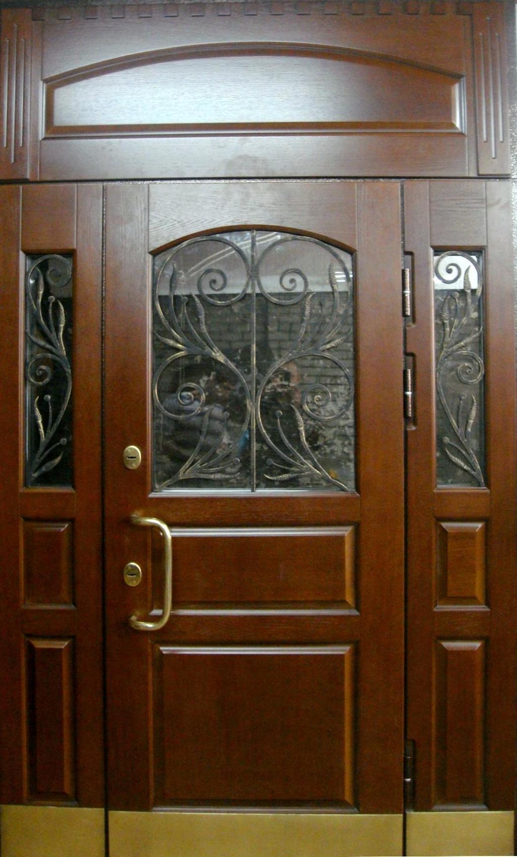 парадные металлические двери в королеве