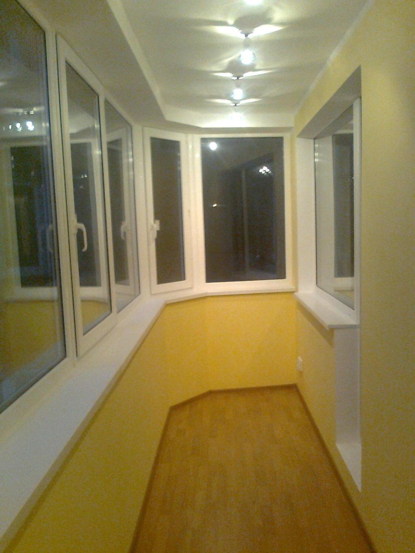 Балкон - примеры работ мастера профит с.
