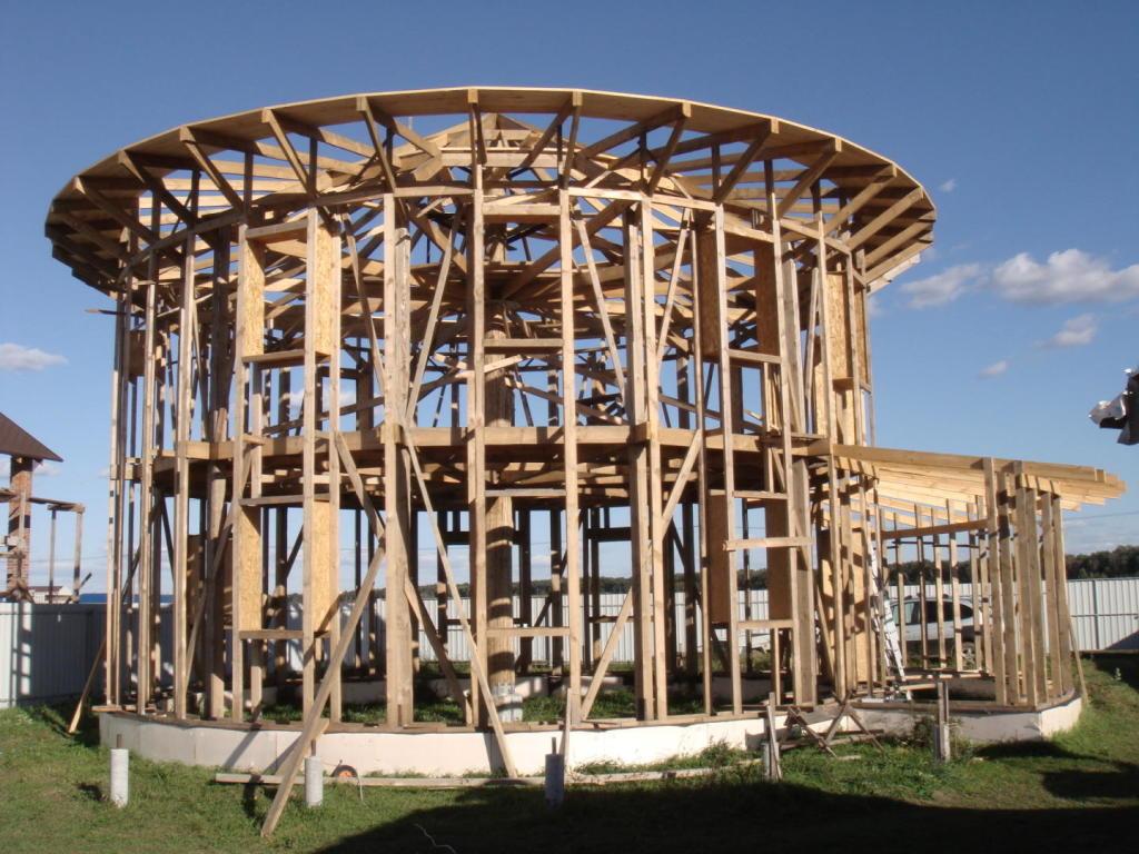 Цилиндрический дом своими руками проекты 25